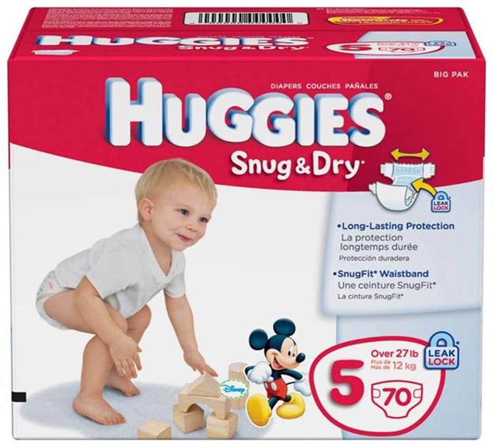 Huggies Snug Dry Diapers