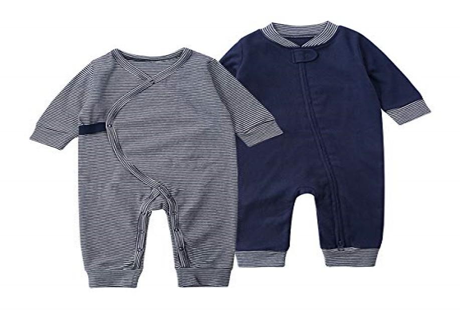 SYCLZ Cotton Romper Jumpsuits