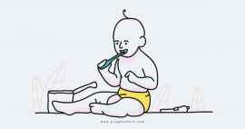 When do you start to brush baby's teeth